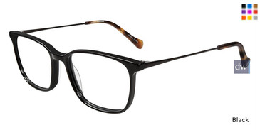 Black Lucky Brand D407 Eyeglasses