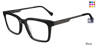 Black Lucky Brand D408 Eyeglasses