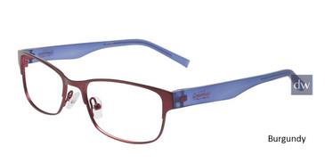 Burgundy Converse K016 Eyeglasses.