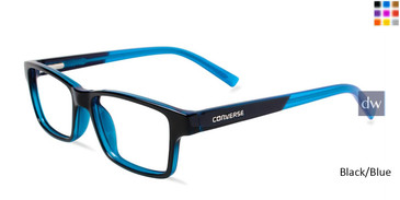 Black/Blue  Converse K017 Eyeglasses - Teenager