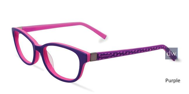 Purple Converse K022 Eyeglasses - Teenager