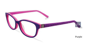 Purple Converse K022 Eyeglasses - Teenager