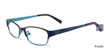 Purple  Converse K023 Eyeglasses - Teenager