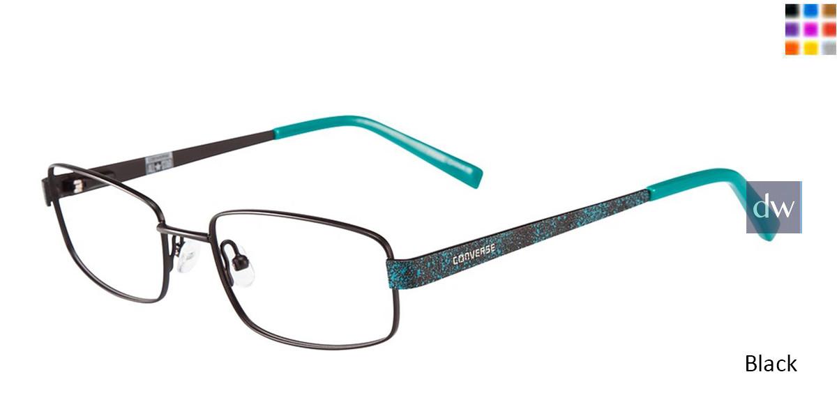 Black Converse K101 Eyeglasses - Teenager