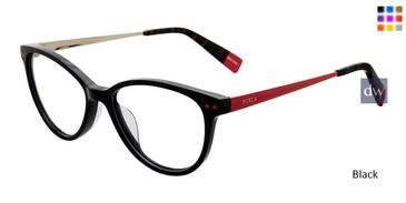 Black Furla VFU083 Eyeglasses.