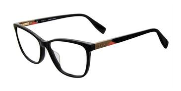 Black Furla VFU130 Eyeglasses.