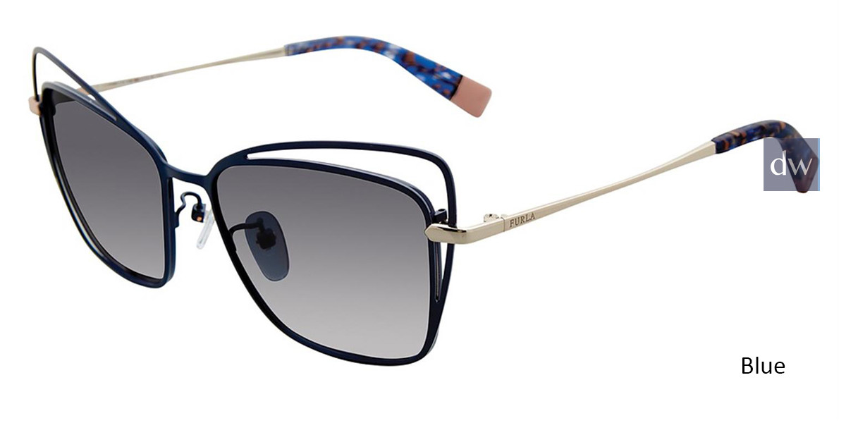 Blue Furla SFU144 Sunglasses.