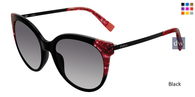 Black Furla SFU149 Sunglasses.