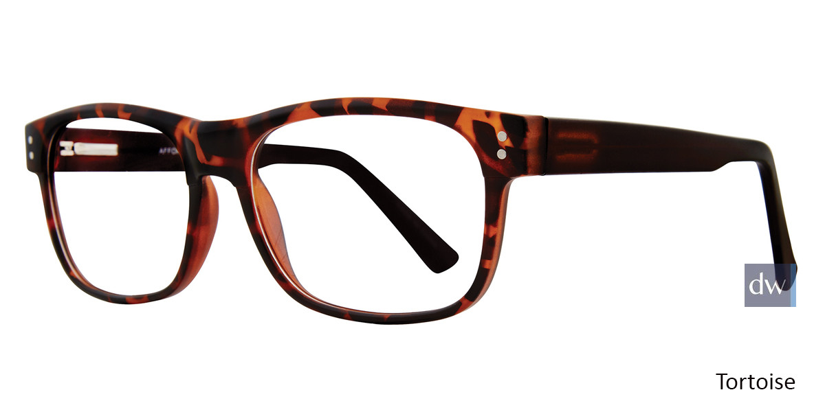 Tortoise Affordable Designs William Eyeglasses
