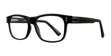 Black Affordable Designs William Eyeglasses