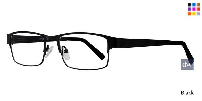 Black Affordable Designs Wrangler Eyeglasses