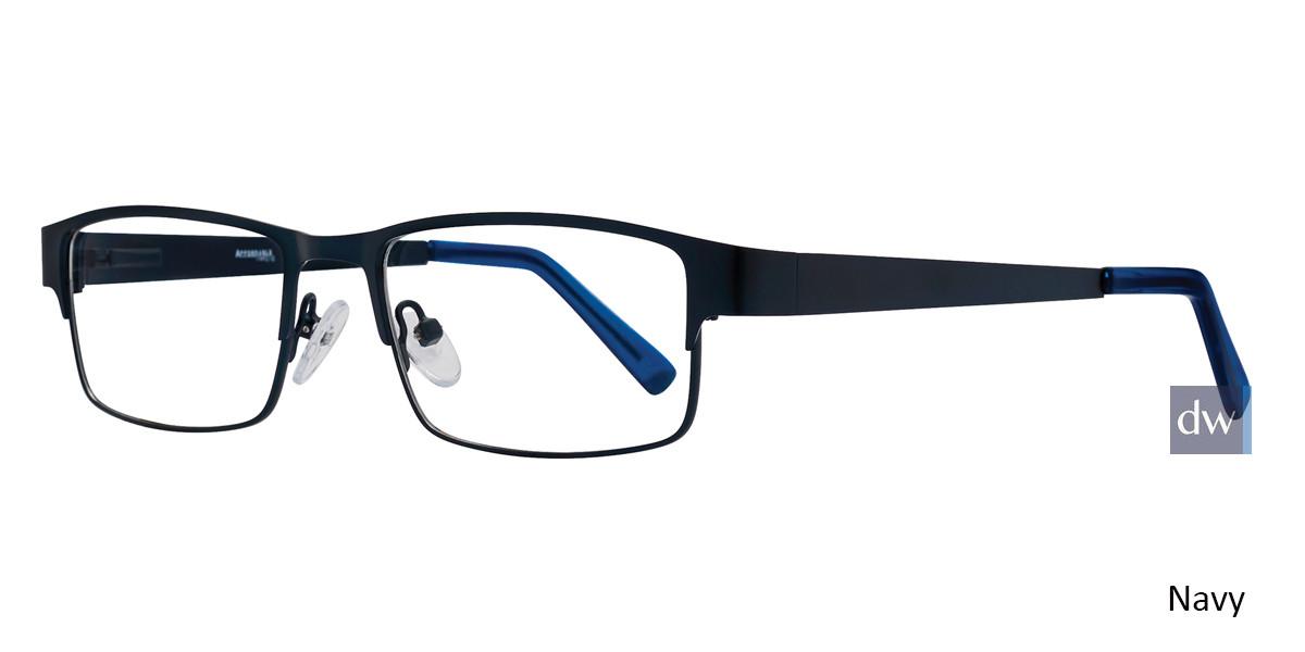 Navy Affordable Designs Wrangler Eyeglasses