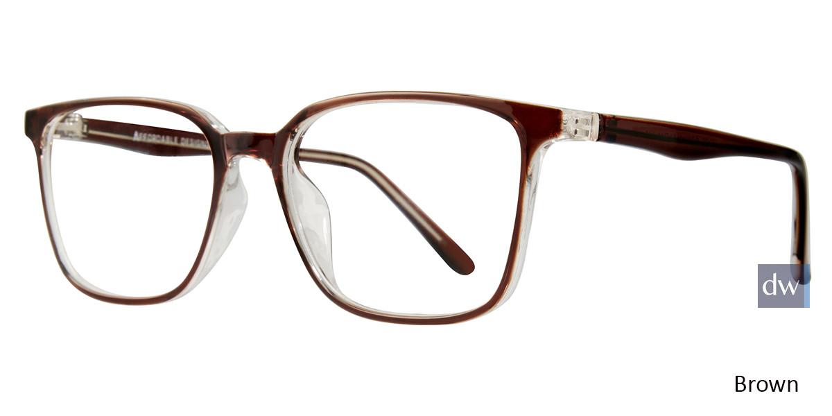 Brown Affordable Designs Tate Eyeglasses