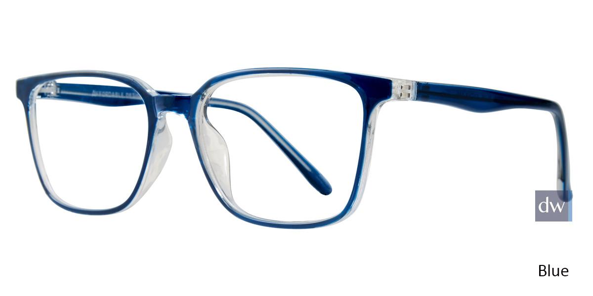 Blue Affordable Designs Tate Eyeglasses