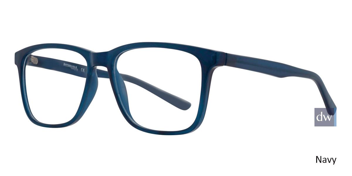 Navy Affordable Designs Monty Eyeglasses
