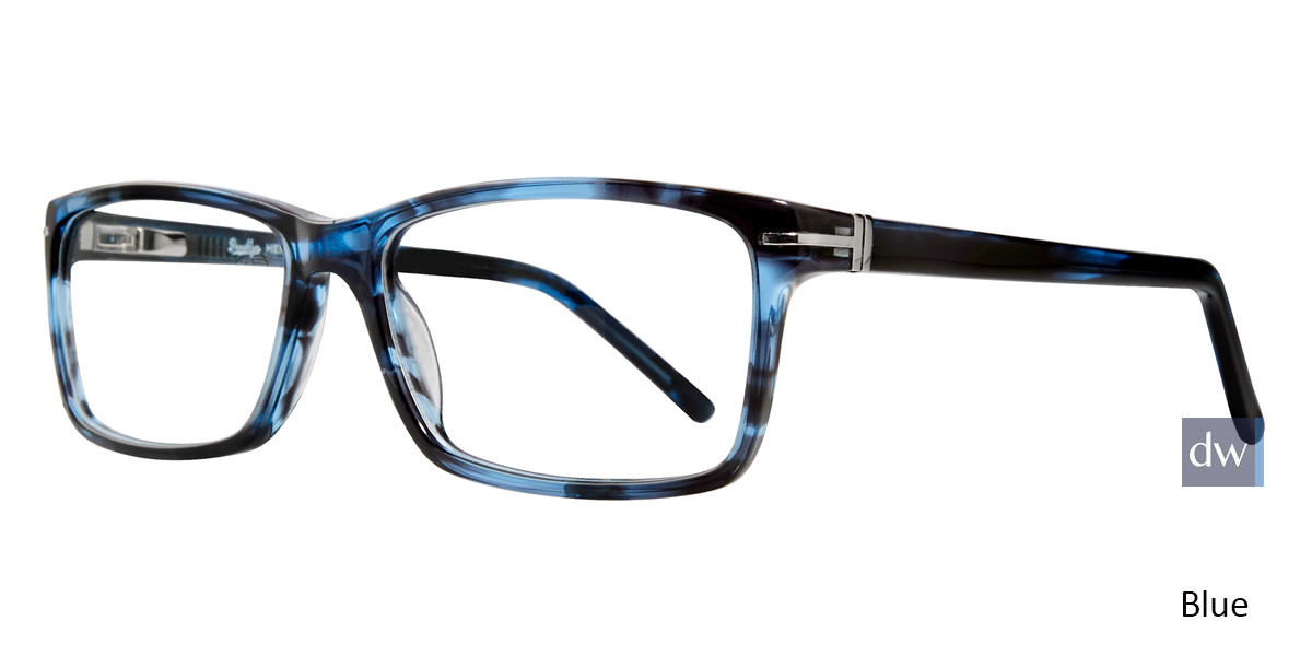 Blue Brooklyn Heights Troy Eyeglasses