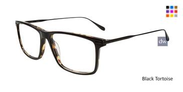 Black Tortoise John Varvatos V403 Eyeglasses.