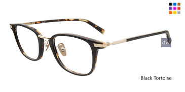 Black Tortoise John Varvatos V405 Eyeglasses - Teenager.