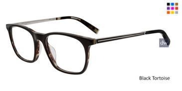 Black Tortoise John Varvatos V406 Eyeglasses