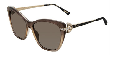 Brown Gradient (TA9P) Chopard SCH232S Sunglasses.