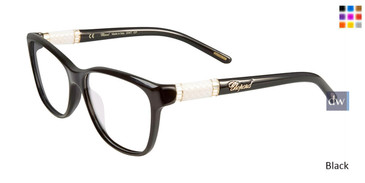 Black Chopard VCH154S Eyeglasses.
