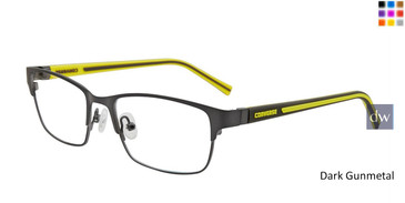 Dark Gunmetal Converse K105 Eyeglasses - Teenager
