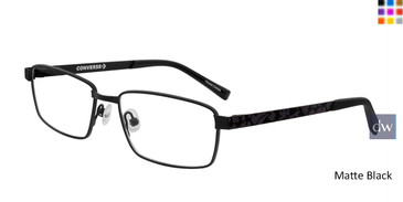 Matte Black  Converse K106 Eyeglasses - Teenager