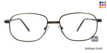 Antique/Gold CE-TRU 314 Eyeglasses