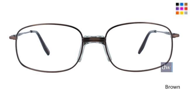 Brown CE-TRU 368 Eyeglasses