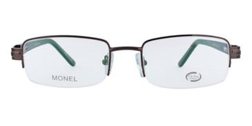 Brown CE-TRU 808 Eyeglasses