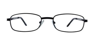 Black CE-TRU 1181 Eyeglasses- Teenager