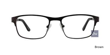 Brown ST. MORITZ Bradford Eyeglasses