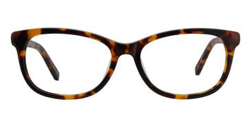 Tortoise ST. MORITZ Brie Eyeglasses.