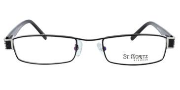 Black ST. MORITZ Calista Eyeglasses.
