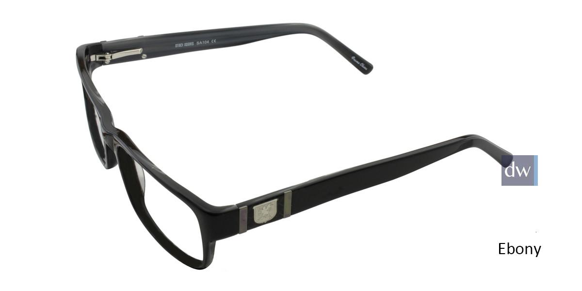 Ebony STACY ADAMS 104 Eyeglasses