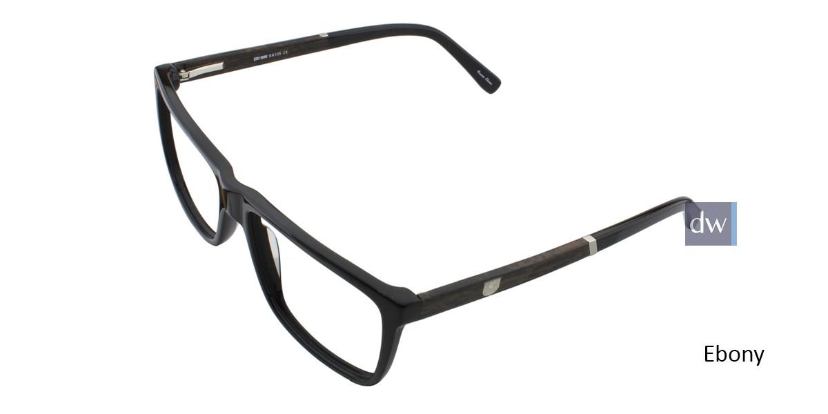 Ebony STACY ADAMS 105 Eyeglasses