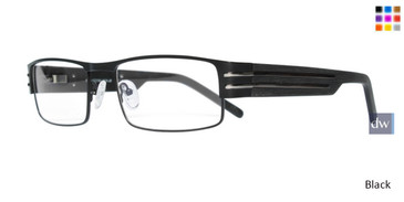 Black STACY ADAMS 03 Eyeglasses