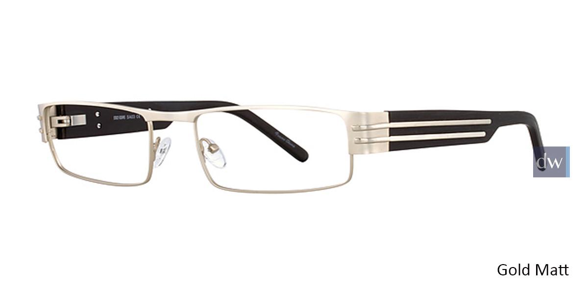 Gold Matt STACY ADAMS 03 Eyeglasses