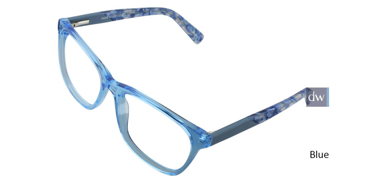 Blue PARIS BLUES 112 Eyeglasses