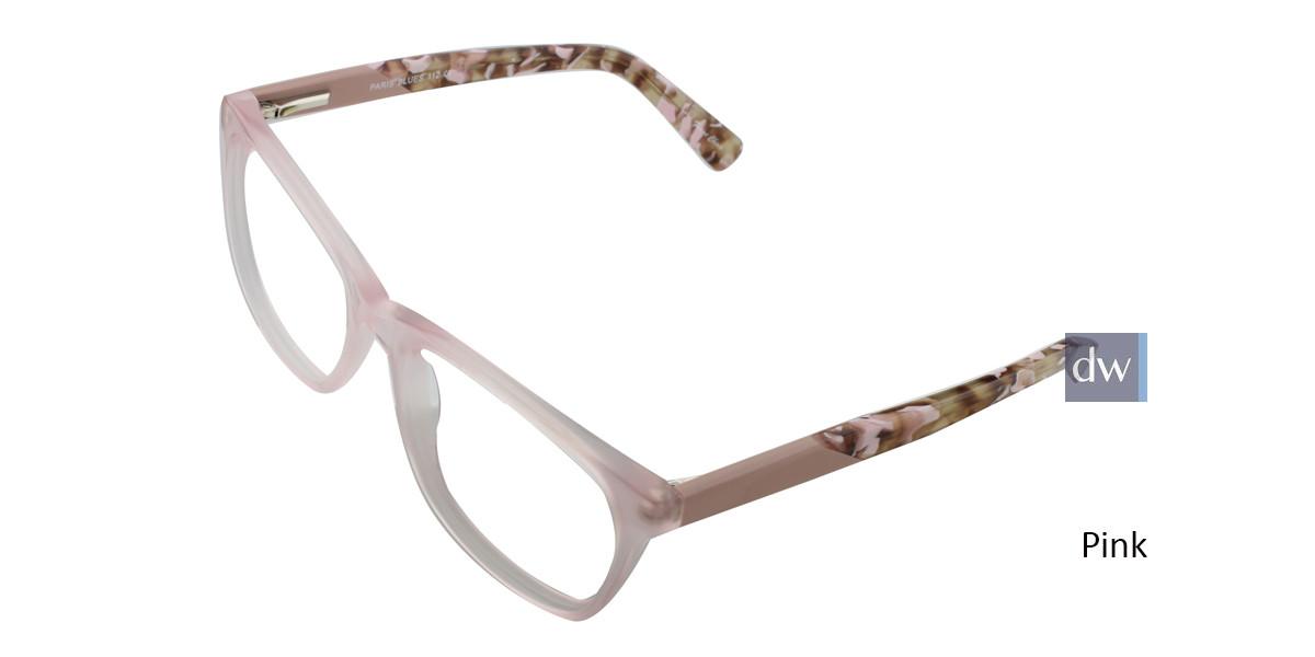 Pink PARIS BLUES 112 Eyeglasses