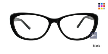 Black ST. MORITZ Nina Eyeglasses