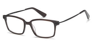 Black Capri Menizzi M4012 Eyeglasses - Teenager.