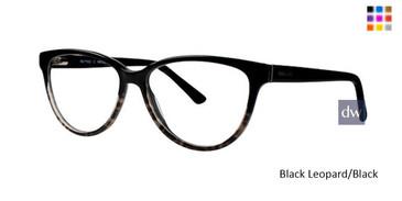 Black Leopard/Black Romeo Gigli RG77032 Eyeglasses