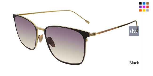 Black John Varvatos V524 Sunglasses