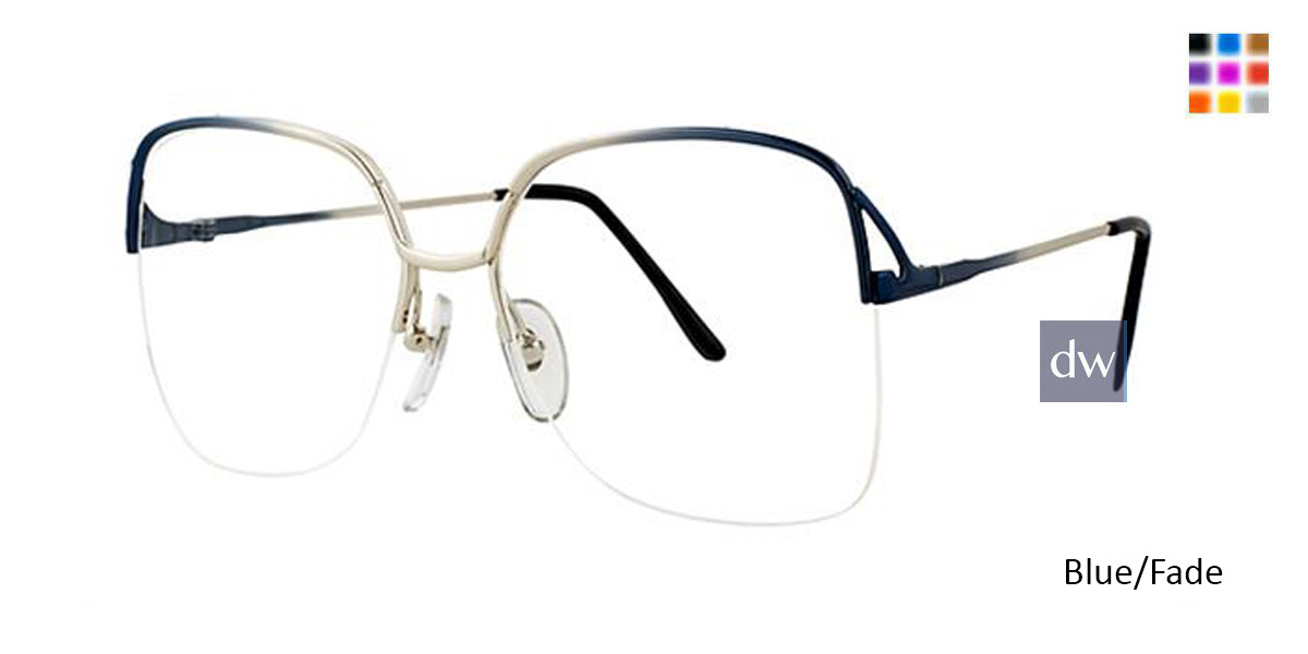Blue/Fade Elan 1080 Eyeglasses