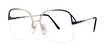 Blue/Fade Elan 1080 Eyeglasses.