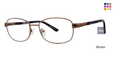 Brown Elan 3416 Eyeglasses