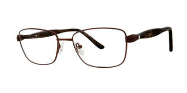Brown Elan 3418 Eyeglasses.