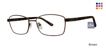 Brown Elan 3419 Eyeglasses