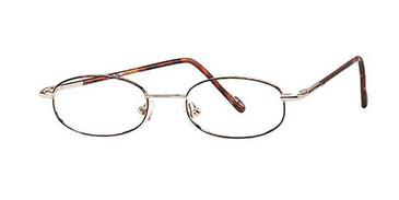 Demi Amber Elan 9074 Eyeglasses.